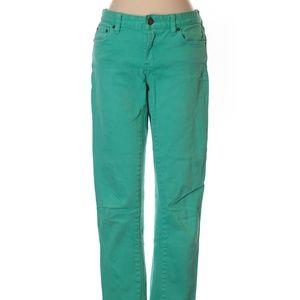 J.Crew Factory Toothpick Color Denim Jeans